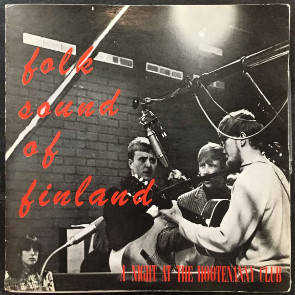 Various Folk Sound Of Finland - A Night At the Hootananny Club LP 1966