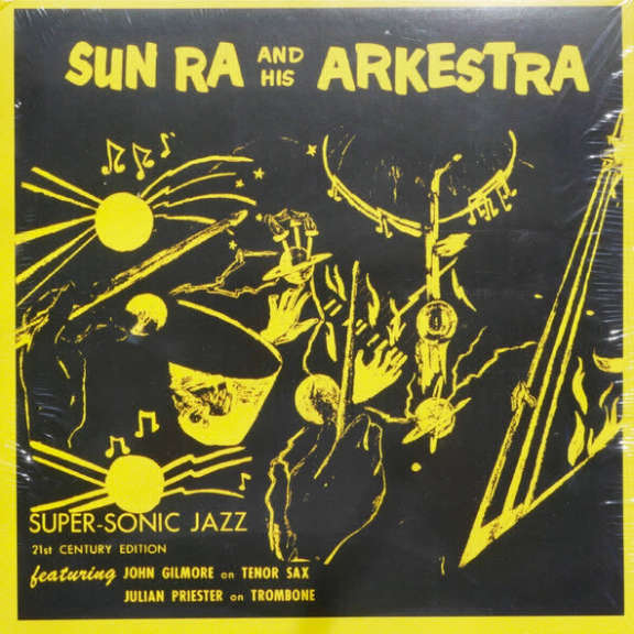 Sun Ra Super-Sonic Jazz LP 2015