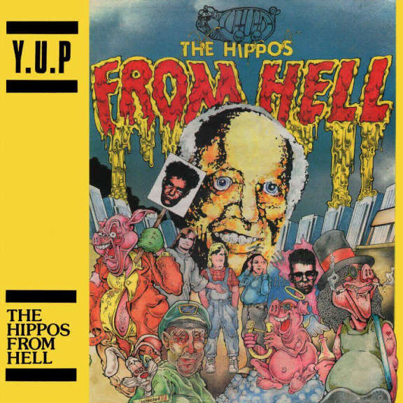 YUP The Hippos From Hell (black) LP 2018