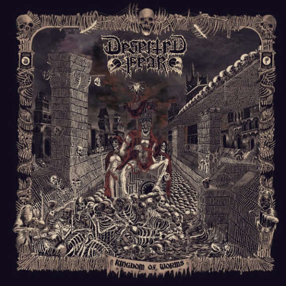 Deserted Fear Kingdom Of Worms LP 2018