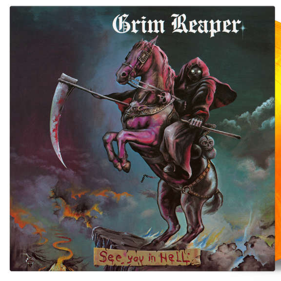 Grim Reaper  See You In Hell LP 2018