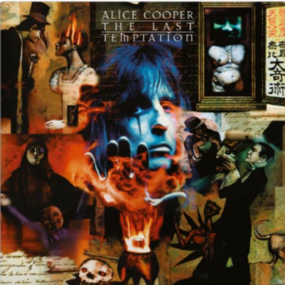 Alice Cooper The Last Temptation LP 2018