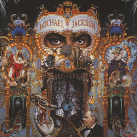 Michael Jackson Dangerous LP 2015