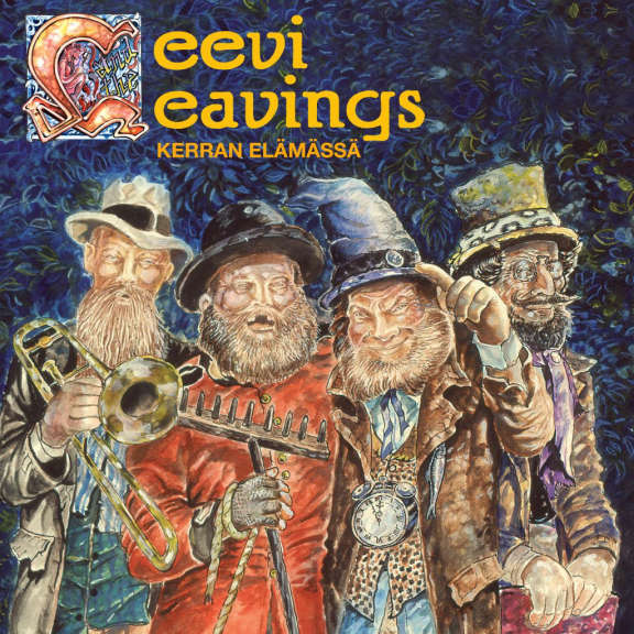 Leevi and the leavings Kerran elämässä (black) LP 2018
