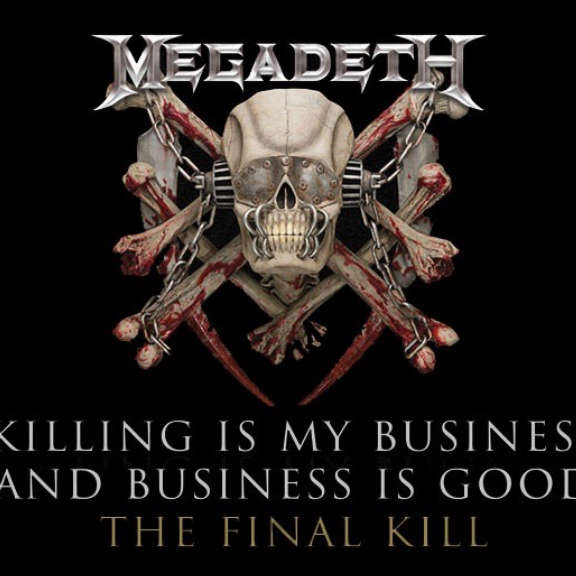 Megadeth Killing Is My Business... And Business Is Good - The Final Kill LP 2018