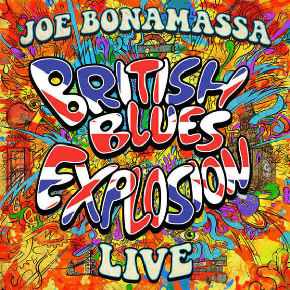 Joe Bonamassa British Blues Explosion Live LP 2018