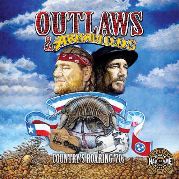 Various Outlaws & Armadillos: Country's Roaring '70s LP 2018