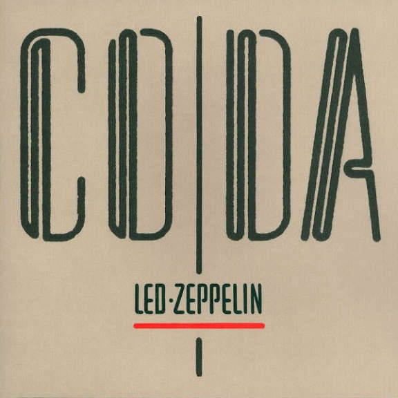 Led Zeppelin Coda LP 0