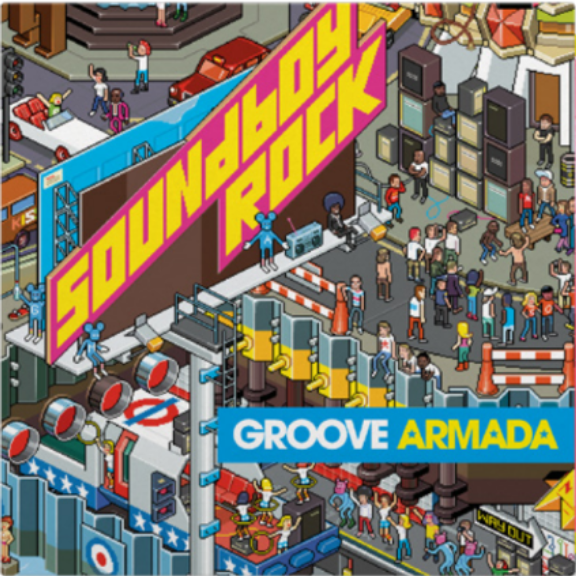 Groove Armada Soundboy Rock (Coloured) LP 2018