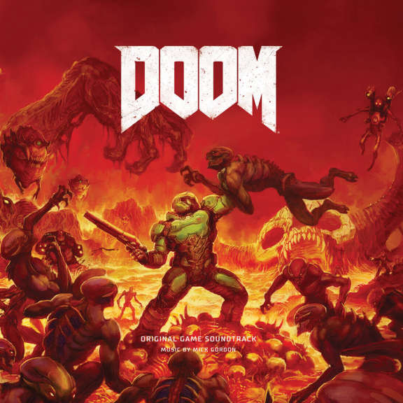 Mick Gordon Doom: Original Game Soundtrack LP 2018