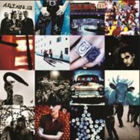 U2 Achtung Baby LP 2018