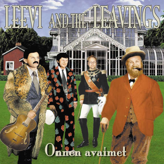 Leevi and the leavings Onnen avaimet (green) LP 0