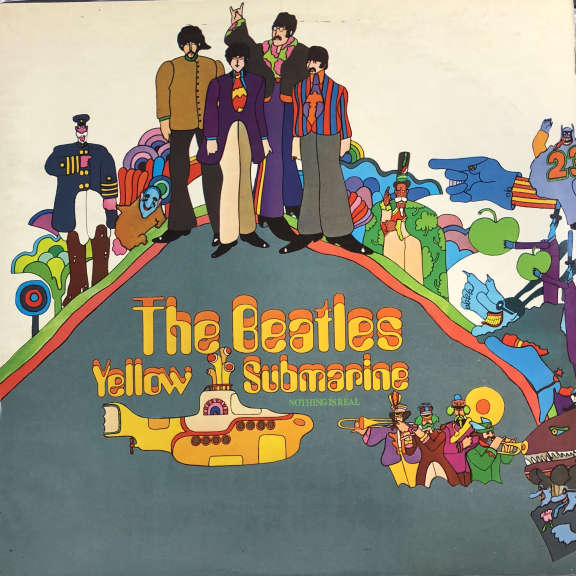 Beatles Yellow Submarine LP 1969