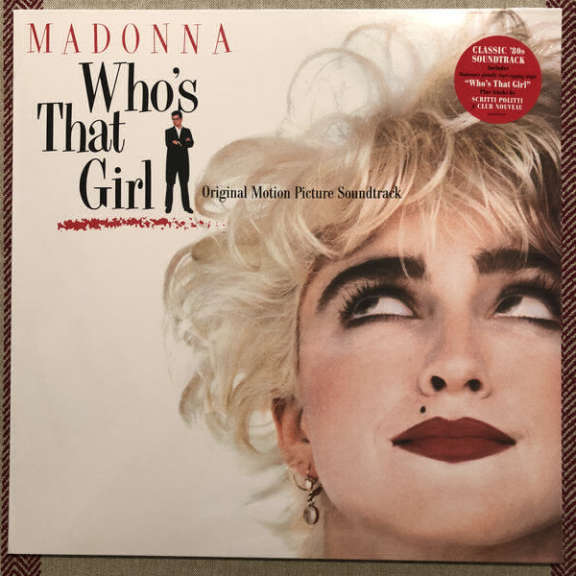 Madonna Who's That Girl LP 2018