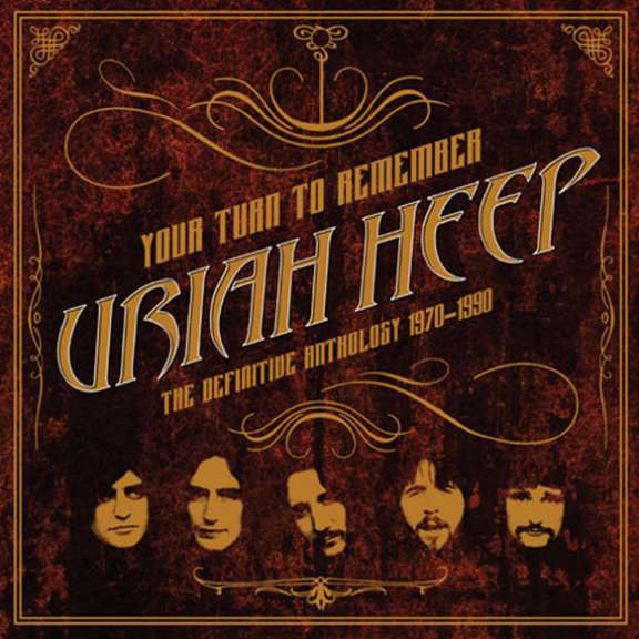Uriah Heep Your Turn to Remember: The Definitive Anthology 1970-1990 LP 2018