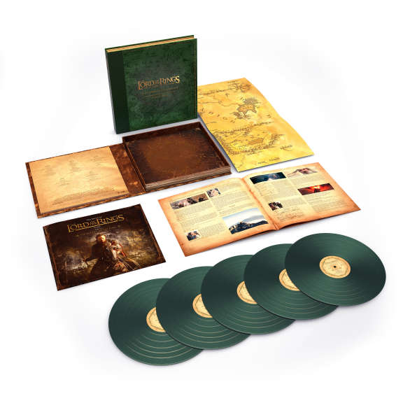 Howard Shore The Lord Of The Rings: The Return of the King - The Complete Recordings (coloured box) LP 2018