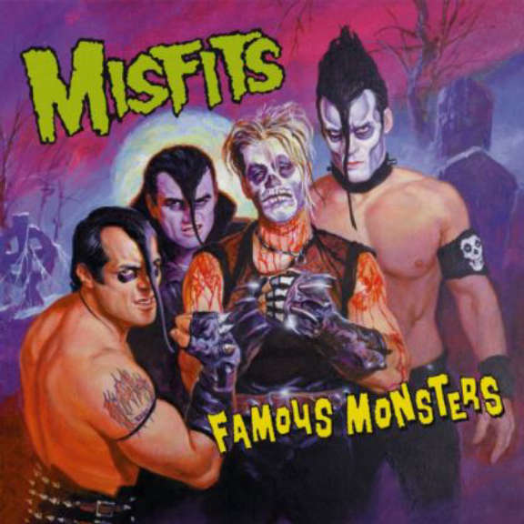 Misfits Famous Monsters LP 2018
