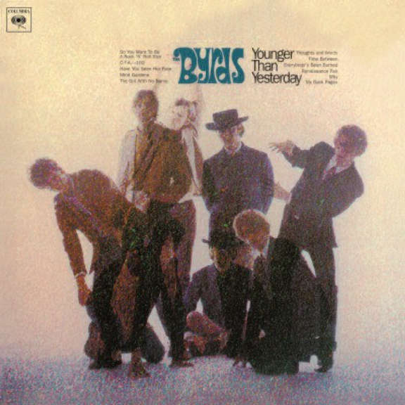 Byrds Younger Than Yesterday LP 2012