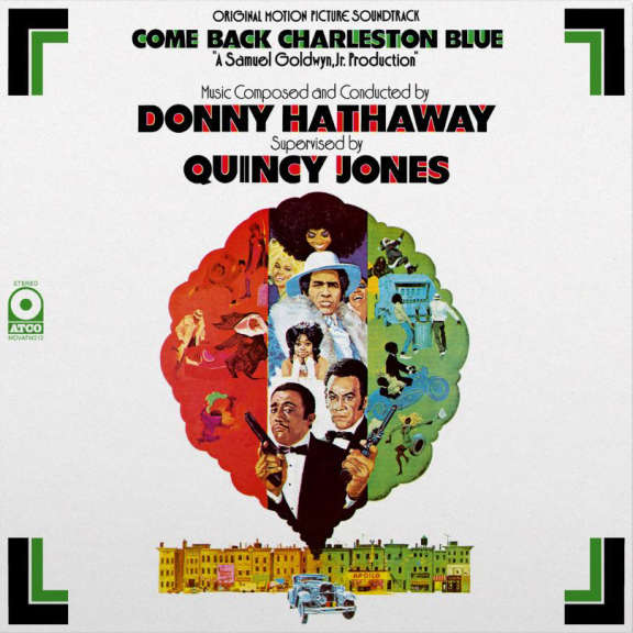 Donny Hathaway Come Back, Charleston Blue OST LP 2018