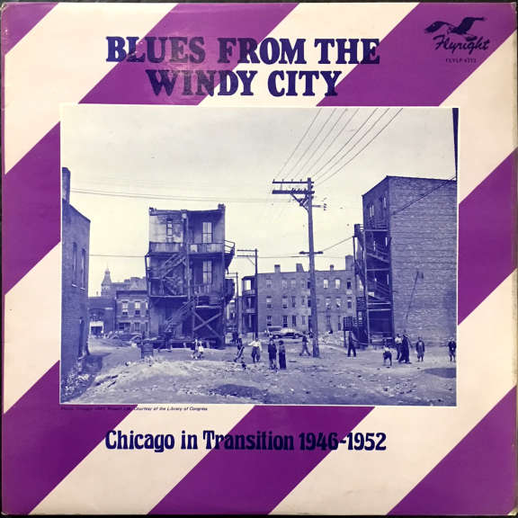 Various Blues From The Windy City (Chicago In Transition 1946-1952) LP 1976