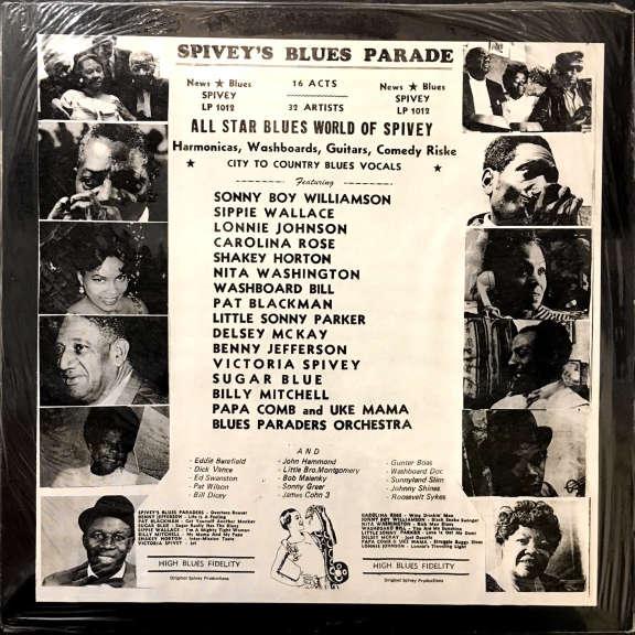 Various Spivey's Blues Parade LP 1970