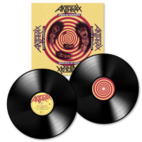 Anthrax State Of Euphoria (30th Anniversary Edition) LP 2018