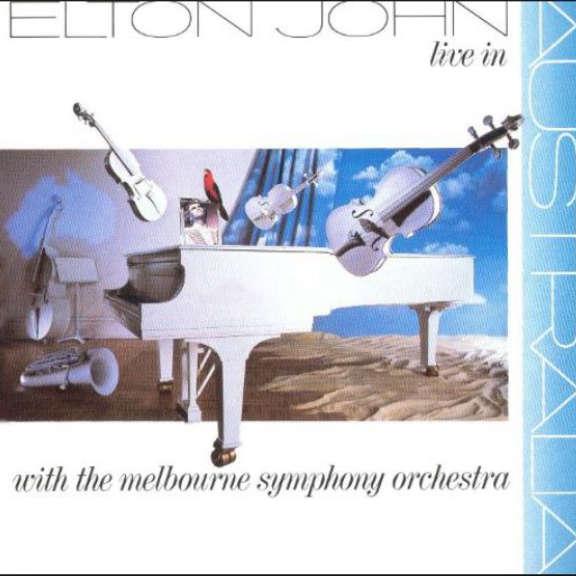 Elton John Live in Australia LP 2018