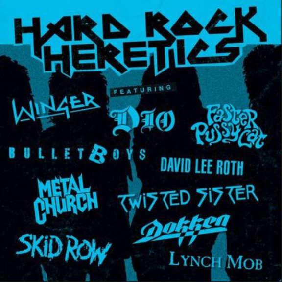 Various Hard Rock Heretics (Coloured) LP 2018