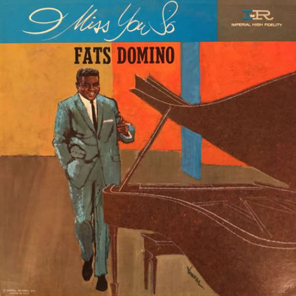 Fats Domino I Miss You So LP 2018