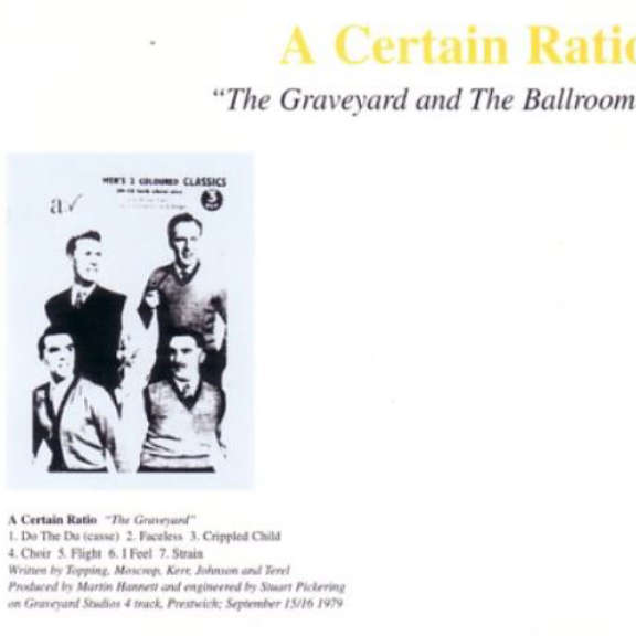 A Certain Ratio Graveyard & Ballroom LP 2018