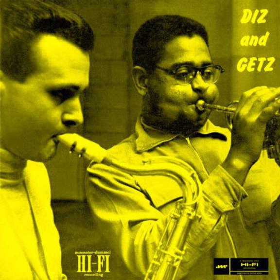Dizzy Gillespie & Stan Getz Diz & Getz LP 2014