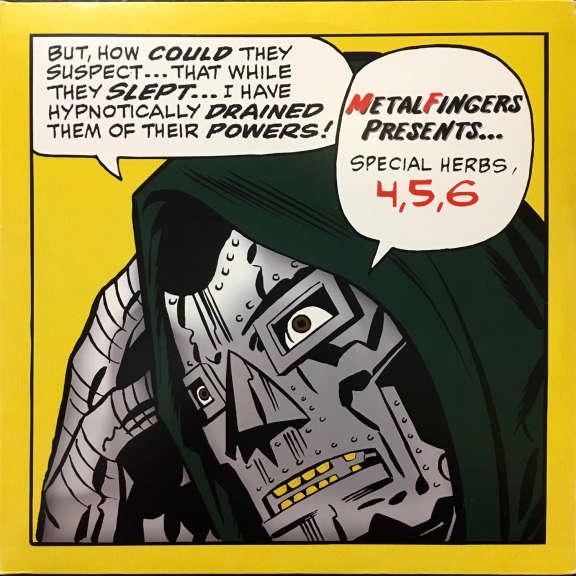 MF Doom Special Herbs 4,5,6 LP 2003