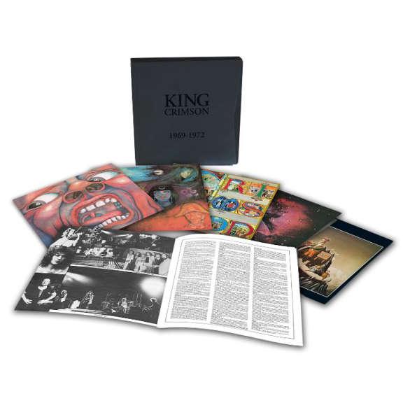 King Crimson 1969-1972 Box Set LP 2018