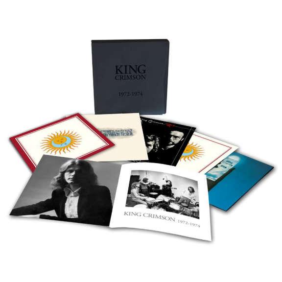 King Crimson 1972-1974 Box Set LP 2018