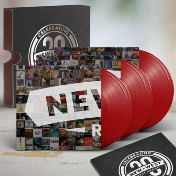 Various New West Records 20th Anniversary Box Set LP 2018