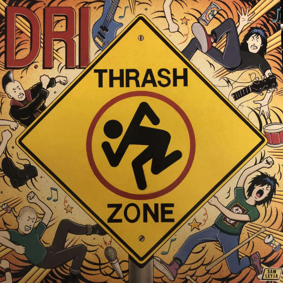 D.R.I. Thrash Zone LP 1989