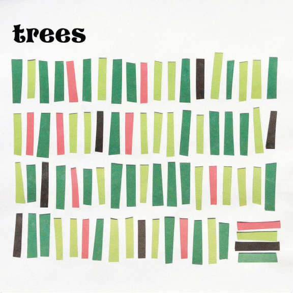 Trees Trees (black) LP 2018
