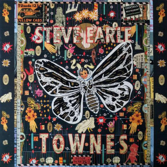 Steve Earle Townes LP 2009
