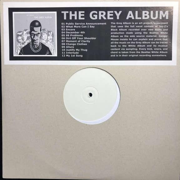 Danger Mouse & Jay-Z The Grey Album LP 2004