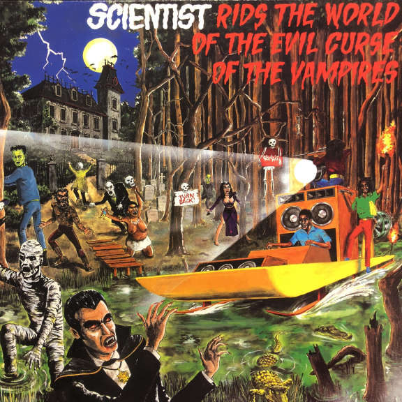Scientist Scientist Rids The World Of The Evil Curse Of The Vampires LP 0