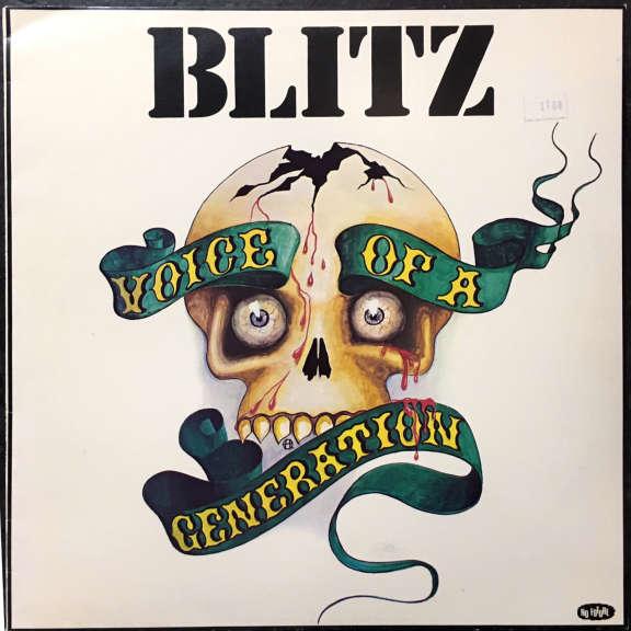 Blitz Voice of a Generation LP 1982