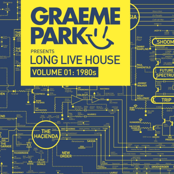 Graeme Park Graeme Park Presents Long Live House Vol. 1 LP 2018