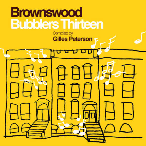 Various Brownswood Bubblers Thirteen (Compiled by Gilles Peterson) LP 2018