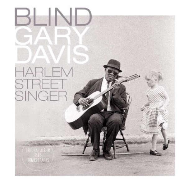 Blind Gary Davis Harlem Street Singer LP 2019