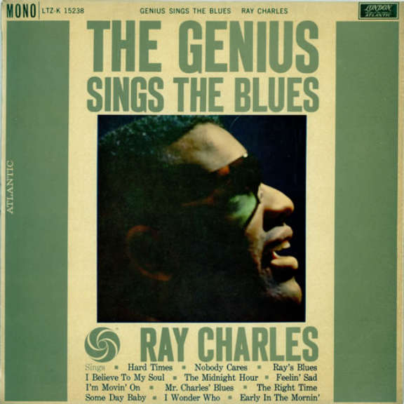 Ray Charles The Genius Sings The Blues LP 2019