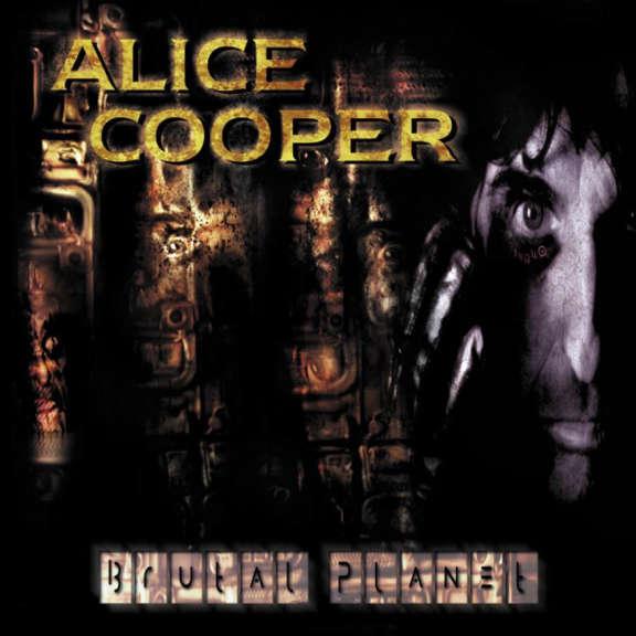 Alice Cooper Brutal Planet LP 2018