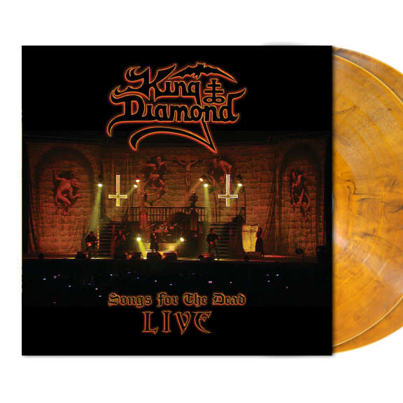 King Diamond Songs for the Dead Live (Coloured) LP 2019