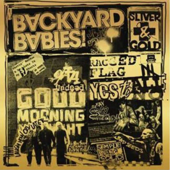 Backyard Babies Silver and Gold LP 2019
