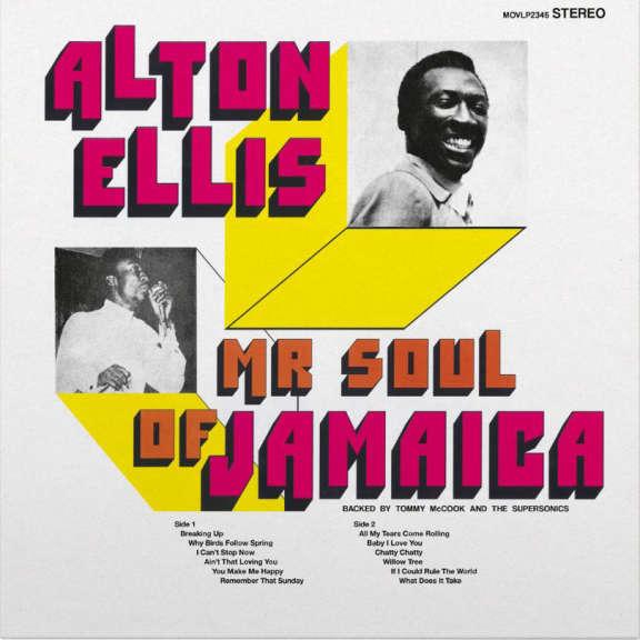 Alton Ellis Mr. Soul of Jamaica LP 2019