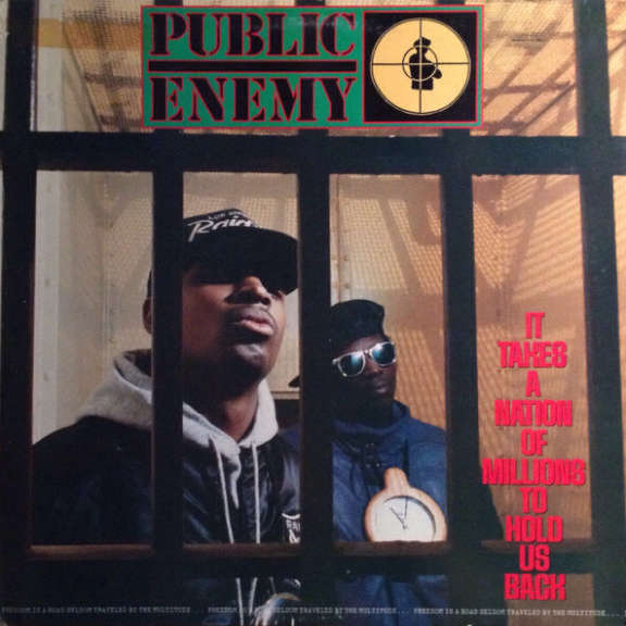 Public Enemy It Takes a Nation of Millions to Hold Us Back LP 2018
